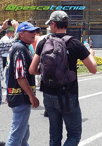 Agustí Albiol - Manifestación en defensa de la pesca 05-06-16