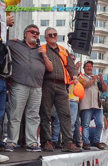 Presidente de la federación de pesca y casting - José Luis Bruna Brotons - Manifestación en defensa de la pesca 05-06-16